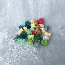 20pcs/lot Lovely Cute Velvet Monkey Toys Girls Toys Birthday Gift Home Decoration Plush Key Chains For Bags