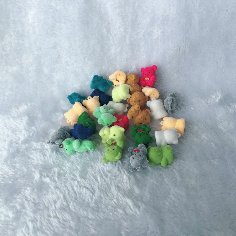 20pcs/lot Lovely Cute Velvet Monkey <font><b>Toys</b></font> Girls <font><b>Toys</b></font> Birthday Gift Home Decoration <font><b>Plush</b></font> <font><b>Key</b></font> <font><b>Chains</b></font> For Bags image