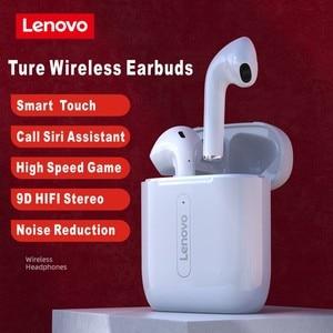 Image 3 - Auricolari Wireless Lenovo Bluetooth 5.0 TWS con microfono PK auricolare Wireless Air 2 Smart Sensor Rename cuffie sportive GPS