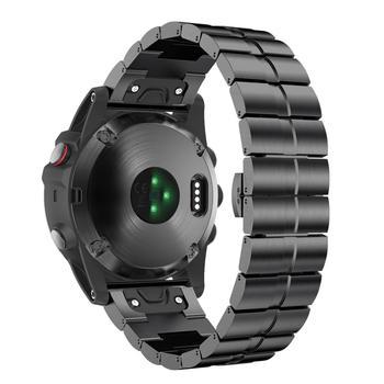 цена на Compatible For Garmin Fenix 5X/6X/3/3HR Band Titanium Alloy Watch Strap with Quick Fit Bracelet Smart Watches Accessory 26mm
