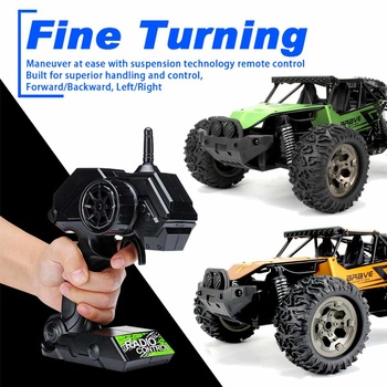 1:12 60Km/h RC Remote Control Off Road Cars Vehicle 2.4Ghz Crawlers Electric Monster RC car Toy for Children Gift 2