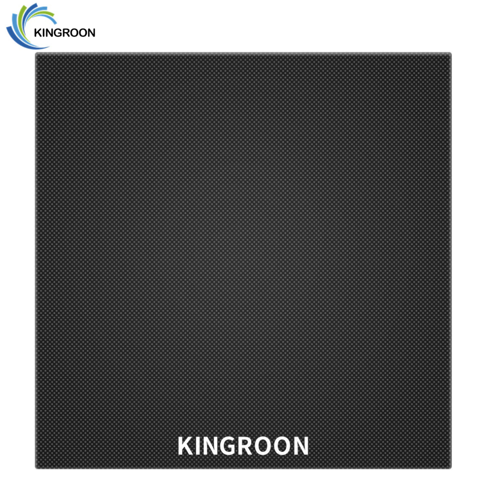 KINGROON 3D Printer Glass Ultrabase Heated Bed Build Surface Glass Plate 180 180  3 8mm Hot bed Printing platform For KP3