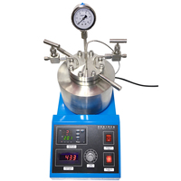 High pressure temperature Autoclave Reactor 150ml with magnetic stirring 250C fast shipping