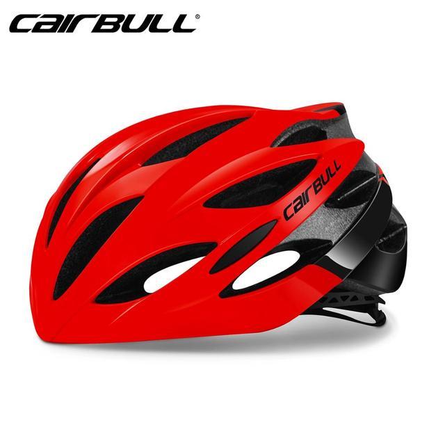 Cairbull ultraleve ciclismo capacete de corrida com óculos de sol intergrally-moldado mtb capacete da bicicleta de estrada de montanha capacete 2