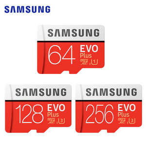 Image 3 - סמסונג זיכרון כרטיס EVO בתוספת 4K Ultra HD מיקרו SD 256GB 128G 64GB Class10 MicroSD כרטיס c10 UHS I Trans פלאש MicroSD כרטיס
