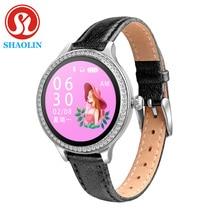 Relógio inteligente feminino lembrete de período fisiológico sono monitoramento esportes pulseira de fitness relógio inteligente para apple android relógio