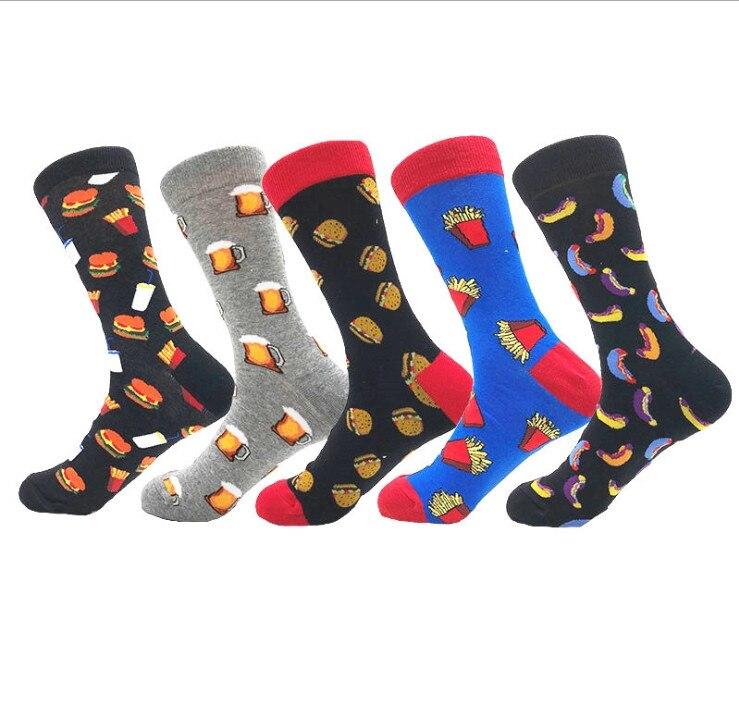 Women's Socks Multi-color Women Long Thigh High Socks Compression Stretch Socks Outdoor Party Funny Elastic Nursing Calf Female