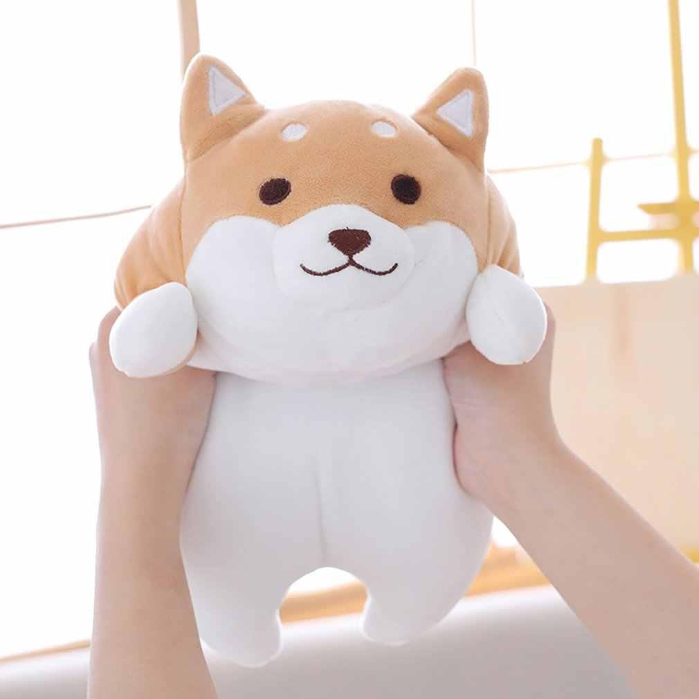 40 سنتيمتر لطيف الدهون شيبا Inu الكلب ألعاب من نسيج مخملي محشوة لينة Kawaii الحيوان الكرتون وسادة جميلة هدية للأطفال طفل الأطفال محشوة أفخم