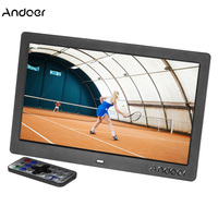 Andoer 10 HD LCD Digital Photo Picture Frame 1024*600 Clock MP3 MP4 Video Player Remote Control Digital Photo Frame