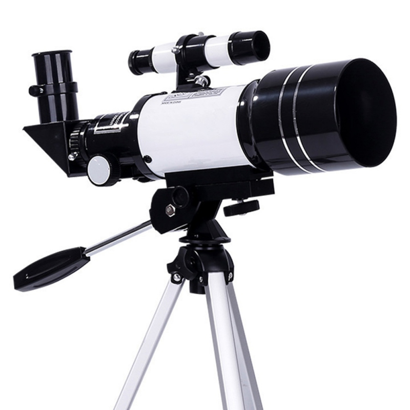 Professional Astronomical Telescope+Tripod Monocular Zoom Telescope Spotting Scope with Phone Bracket Watch Moon Star Far Scene