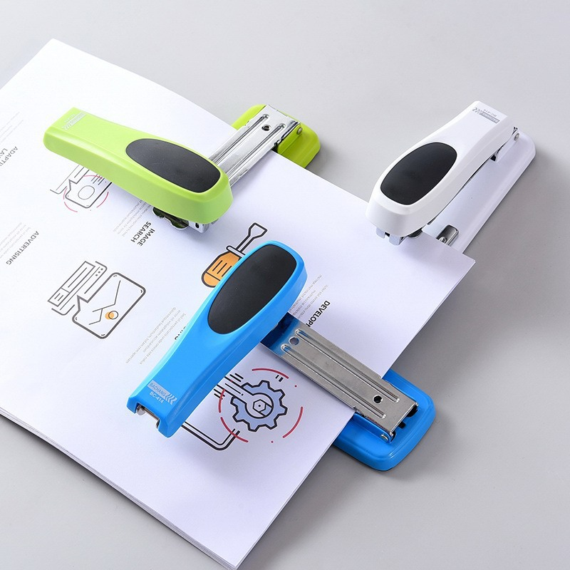 360 Degree Rotating Portable Stapler 20 Pages Paper Desktop10/25 Standard Staplers Office School Binding Book Stationery No.12