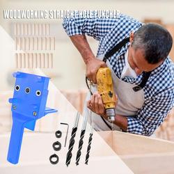 Wiertło naprowadzające otwór umiejętne wytwarzanie najwyższa jakość ręczny kieszonkowy przyrząd do wiercenia dziurkacz narzędzie do drewna w Części do narzędzi od Narzędzia na