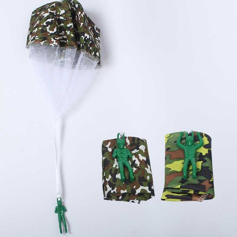 Fly Parachute Sport Random Educational Mini Soldier Birthday Present Kids Toys Parachute Game Funny Toys Xmas Gift Outdoor Toys