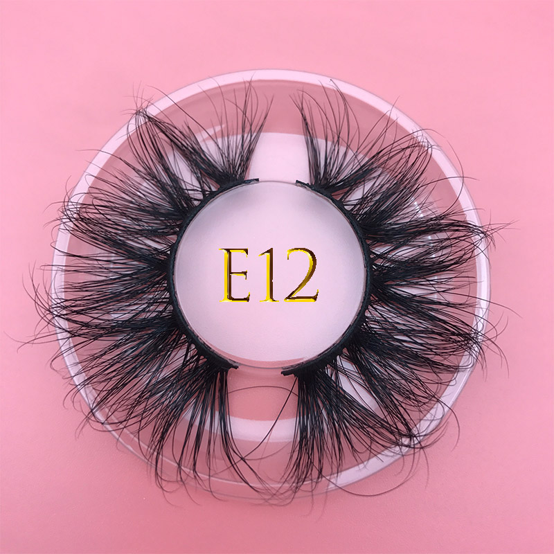 25mm Long MIKIWI Mink Lashes100% Cruelty Free Lashes 3D REAL MINK Handmade Reusable Natural Eyelash Popular False Lashes Makeup
