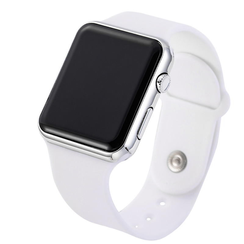 Sport Digital Watch Women Men Square LED Watch Silicone Electronic Watch Women's Watches Clock Relogio Feminino Digital Reloj
