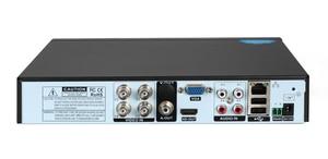 Image 2 - Czerwony Panel Hi3521D Xmeye Audio 4K 8MP 4CH 4 kanałowy H.265 + hybrydowy 6 w 1 XVI TVI CVI NVR AHD CCTV DVR nadzór wideorejestrator