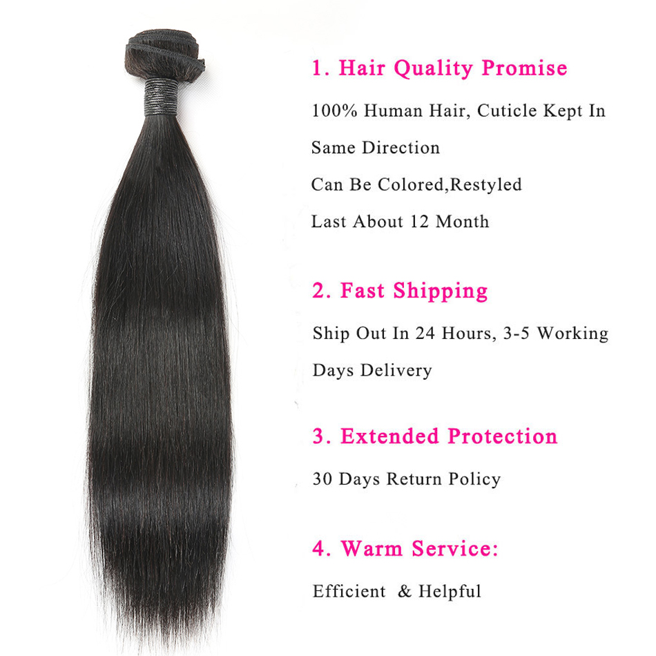 Alimice Indian Straight Human Hair Bundles With Closure 3 Bundles Hair Extensions With Closure Remy Lace Alimice Indian Straight Human Hair Bundles With Closure 3 Bundles Hair Extensions With Closure Remy Lace Closure with Bundles