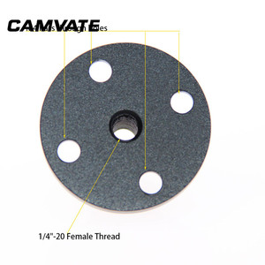 """Image 4 - CAMVATE Photography Wall Ceiling Table Mount Support Holder With 1/4"""" 20 Female Thread For Table/Podium/Wall /Ceiling Connecting"""