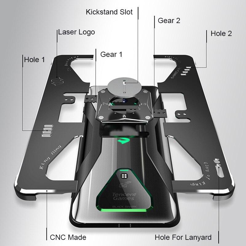 3FCASE Metal Black Shark 3 Pro Case Shockproof Aluminum Metal Armor Cover Coque For Xiaomi Black Shark 3S 3 Pro Funda Phone Case