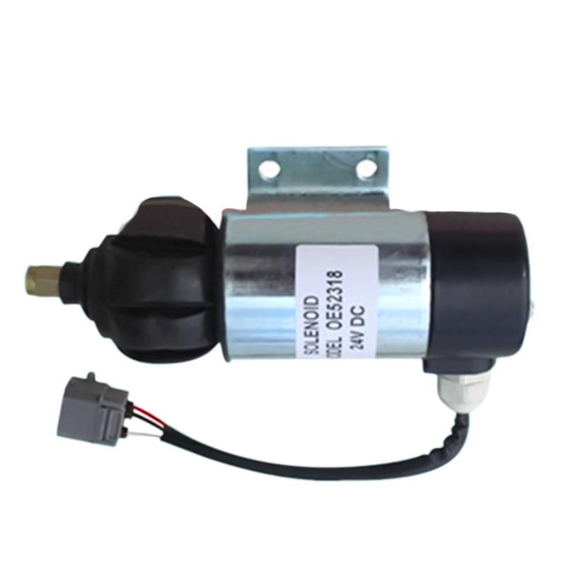 Wholesale  Fuel Shutdown Solenoid  OE52318  872825 873754 24V DC, 3PCS/LOT