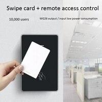 M12 controle de acesso suporte a controle remoto para abrir a porta em cartão de controle de acesso ao ar livre sistema de controle de acesso sem teclado suppor   -