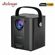 Salange P500 Мини проектор для смартфона портативный домашний кинотеатр Full HD Поддержка 1080P кинопроектор для домашнего развлечения