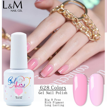 24pcs DHL Free Shipping Uv Nail Gel Uv Soak Off  gel polish Nail Polish Rack Gelartist wholesale hot sale color gel nail polish