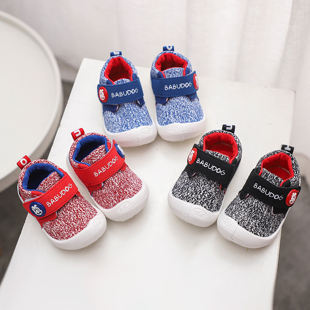 Toddler Classic Canvas Sports Newborn Baby Boys Girls First Walkers Shoes Infant Toddler Soft Sole Anti-slip Baby Running Shoes