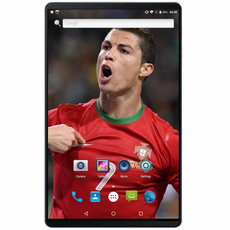 2020 Global 10 Inch Tablet Pc Quad Core 2GB RAM 32GB ROM 3000mAh 1280*800 IPS Dual Cameras GPS Phone Call Tablets 10.1+Gifts