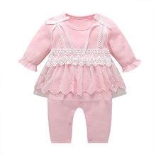 Fashion Newborn Baby Girl Clothes Spring Autumn Bab