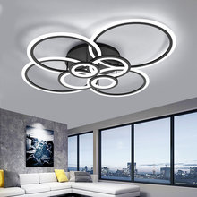 acrylic room modern nordic pendant hanging living room led light bedroom lamp color changing lights led chandelier lighting(China)