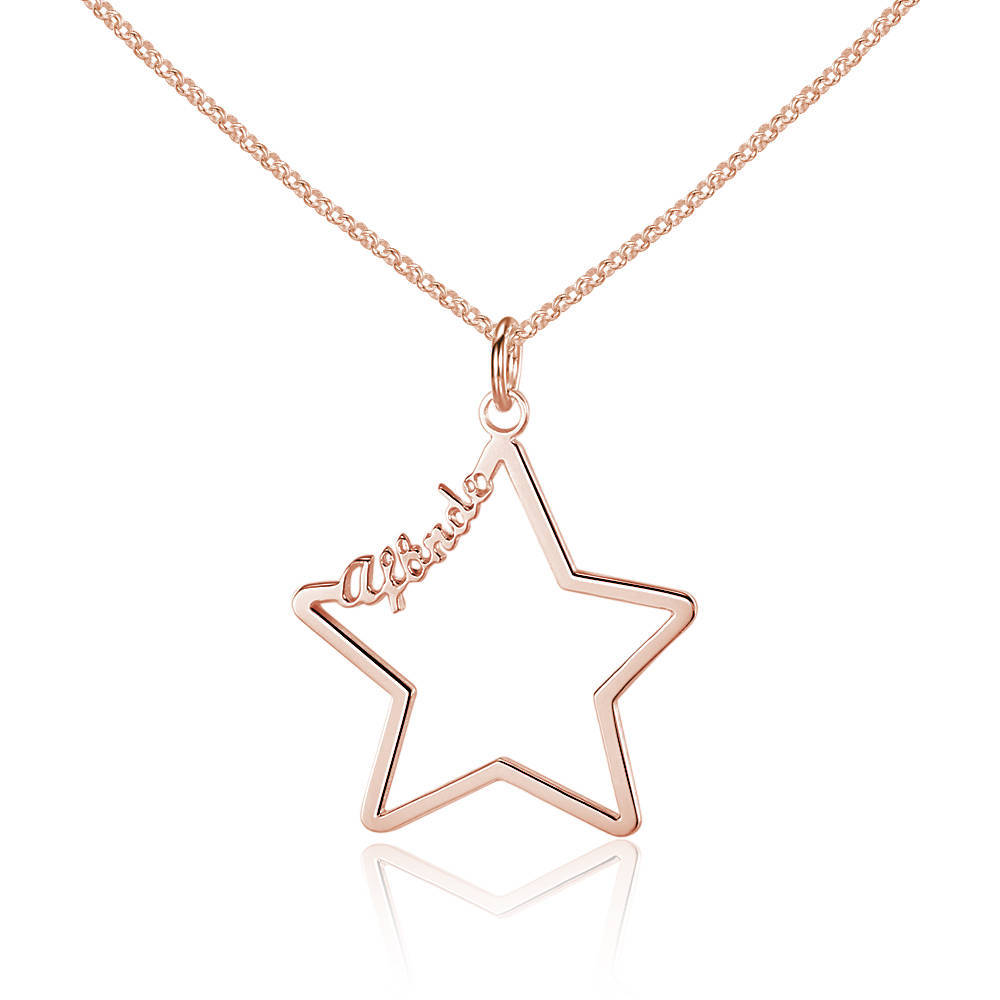 Gold-Color-Hollow-Star-Namepla