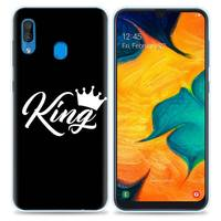 galaxy note Her King Case for Samsung Galaxy S10 5G S10e S9 S8 Plus S7 Note 10 8 9 J4 J6 2018 M30s M10s TPU Phone Coque Bags (2)