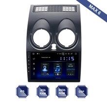 안드로이드 10 1 Din GPS 멀티미디어 닛산 Qashqai 2008   2013 J10 자동차 라디오 PX6 DSP IPS HDMI 4Gb + 64Gb RDS WIFI BT USB 무료지도