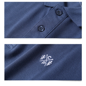 Image 3 - Summer Men Polo Shirt Brand Clothing Pure Cotton Men Business Casual Male Polo Shirt Short Sleeve Breathable Soft Polo Shirt 5XL