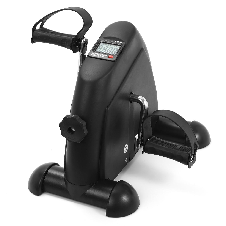 Домашнее фитнес-оборудование для помещений, мини-педаль, тренажер для шагового упражнения, ЖК-дисплей, велосипедный шаг с регулируемым сопр...