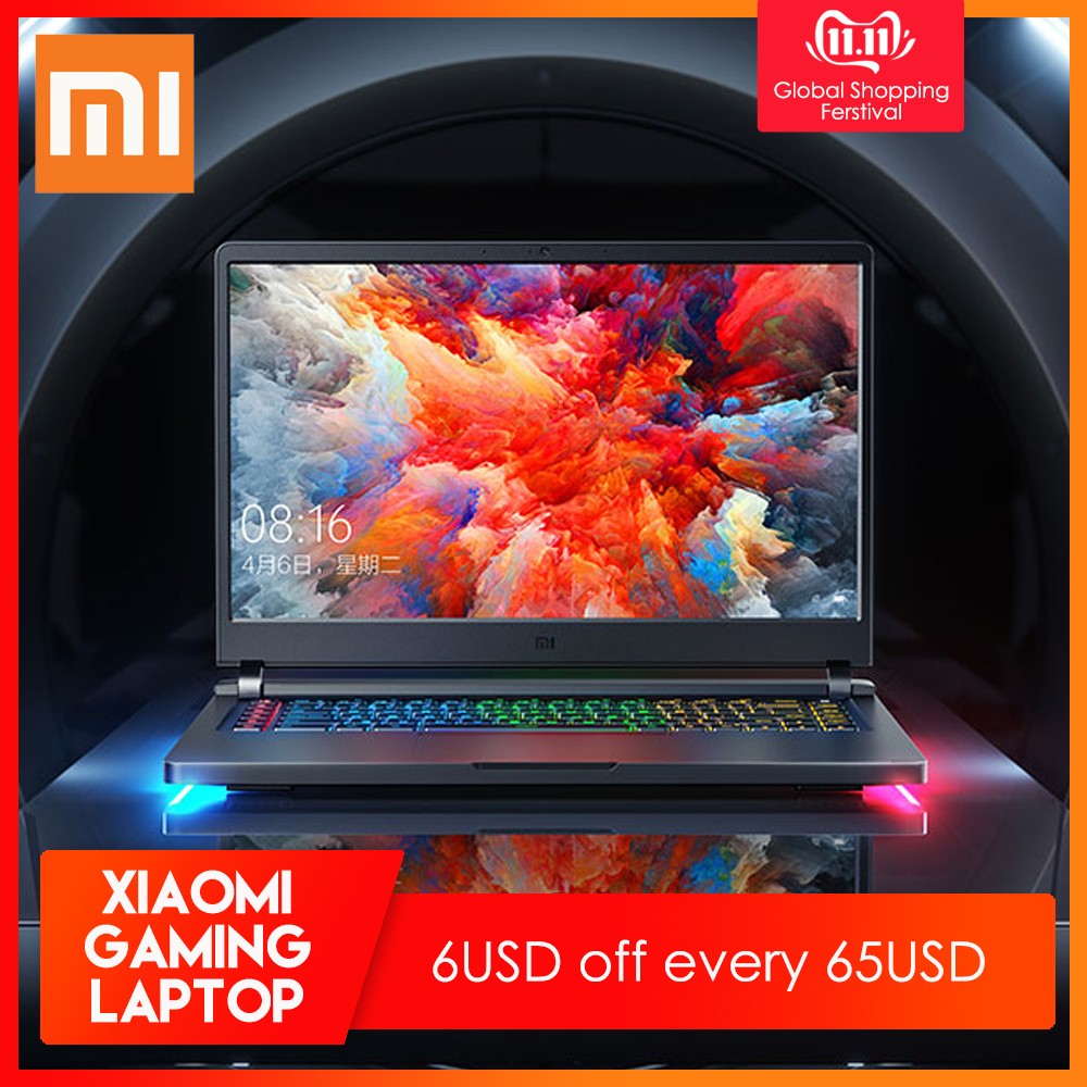 Ordinateur portable d'origine Xiao mi Ga mi ng 2019 Windows 10 Intel Core i7-9750 H 16 go de RAM 512 go SSD HD mi ordinateur portable type-c Bluetooth