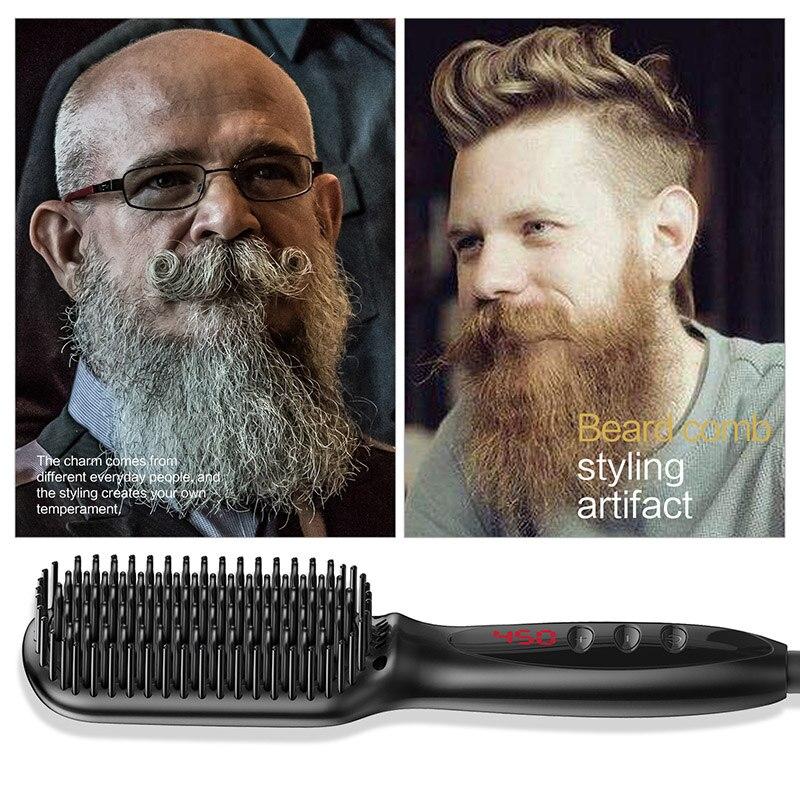 Купить с кэшбэком New Hair Brush Fast Straight Hair Comb Hair Electric Brush Comb Iron Automatic Straight Hair Comb Hair Straight Hair Comb
