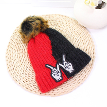 купить Cute Solid Pompom Ball Baby Hats Knit Wool Newborn Turban Beanie Warm Caps Soft Hat For Girls Boys Elastic Bonnet Autumn Winter дешево