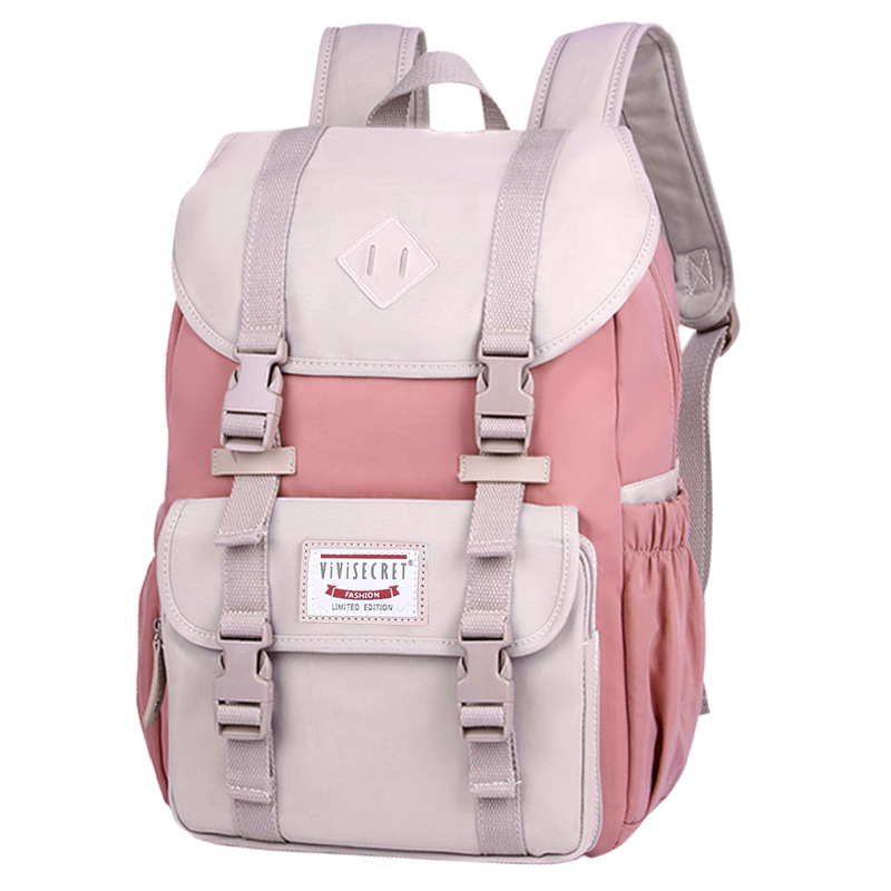 New Junior School Bags For Girls Backpack Student Children Bag Waterproof Canvas Laptop Backpacks Travel Bagpack Mochila