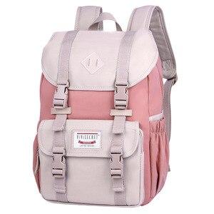 New Junior School Bags For Girls Backpack Student Children Bag Waterproof Canvas Laptop Backpacks Travel Bagpack Mochila