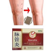 6Pcs/Bag Varicose Veins Herbal Healing Patches Chinese Medical Herbal Varicose Veins Effective Cure