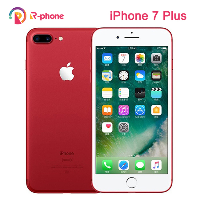 Unlocked Original Apple iPhone 7 Plus 3GB RAM 32/128GB/256GB ROM iOS 4G LTE Unlocked Cellphone Quad-Core Fingerprint 12MP Phone