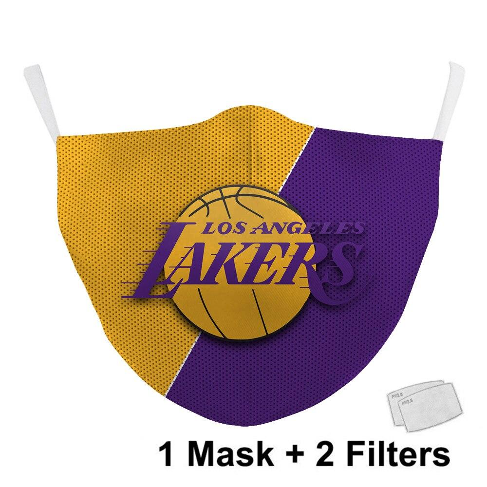 NBA LA Lakers mondkapje
