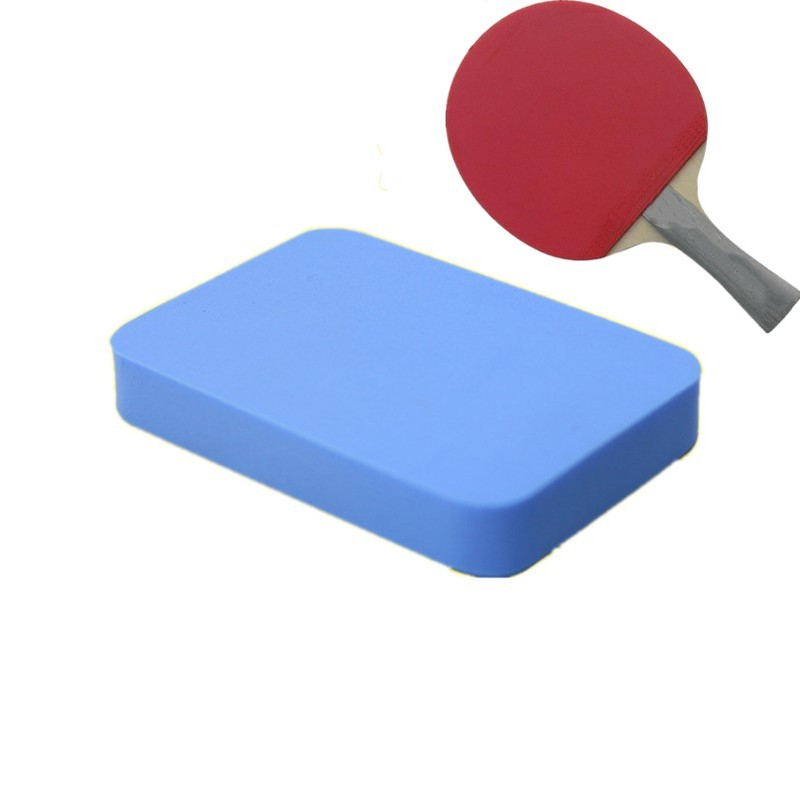 1pc Professional Table Tennis Rubber Cleaner Table Tennis Rubber Cleaning Sponge Table Tennis Racket Care Accessories