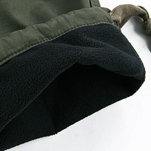 Image 5 - Mens Winter Broek Dikke Warme Cargo Broek Toevallige Fleece Zakken Bont Broek Plus Size 38 40 Fashion Loose Baggy Joger werknemer Mannelijke