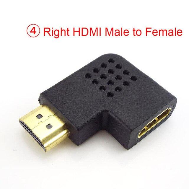 Conector hdmi macho para fêmea conversor acoplador