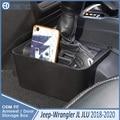 Органайзер для багажника на 2018  2019  Jeep Wrangler JL JLU  лоток для передач  консоль переключения передач  боковая коробка для хранения на 2020  Jeep Gladiator ...