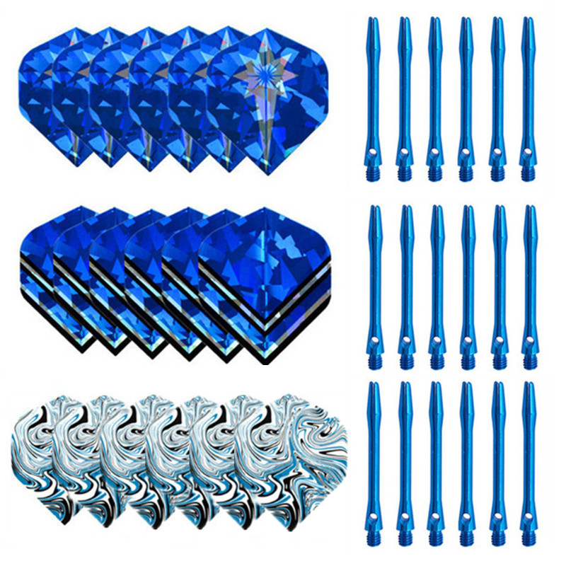 Nylon Dart Shafts And Popular Nice Pattern Darts Flights Dart Accessories For Soft And Steel Darts 2019 New