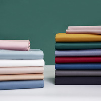 New 60 Cotton Sheets Single Piece Cotton Solid Color Double Home Dormitory Sheets Bedding Accessories